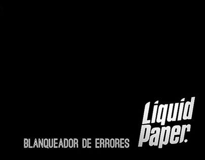 Liquid Paper-Blanquedor de errores