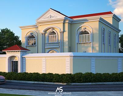"""Private Classic Villa """" Qatar """""""