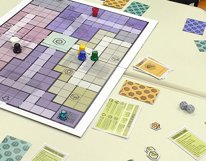 Board game Fuga Insana