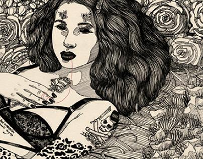 The Red Thread (illustrations / ilustraciones)