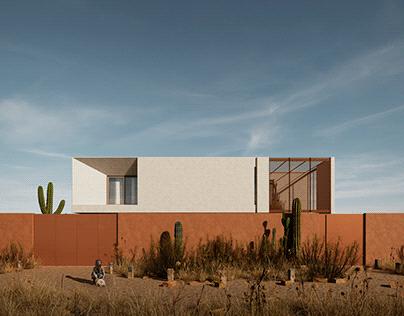 Casa Niamey, for Ihan Arquitectos, Niger, Africa, 2021.