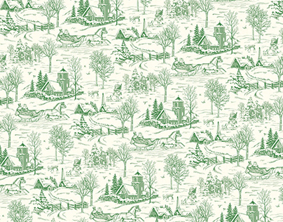 TOILE TIDINGS SUITE // Stampin' Up!