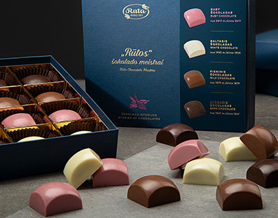 Rūta. 4 Stories of Chocolates Collection Package