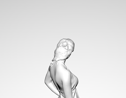 3D Modelling Character Design | Woman