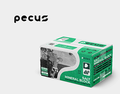Pecus Salt Mineral Block Double Pack - Packaging