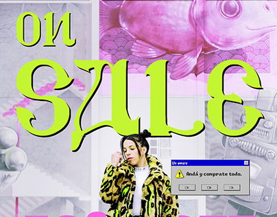 ON SALE!!. Advertising poster.