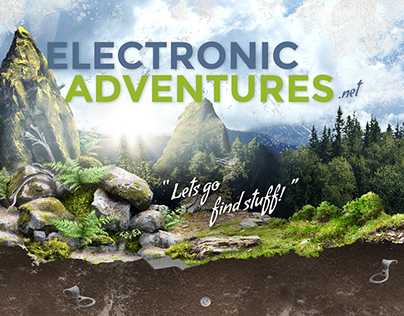 Electronic Adventures — Website Design