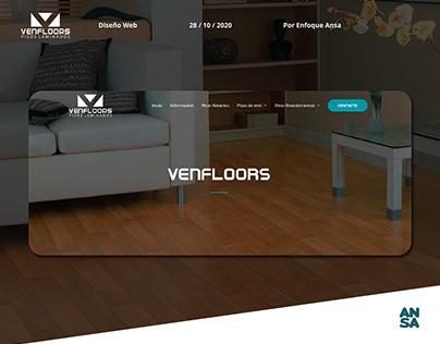 Venfloors - Diseño WEB