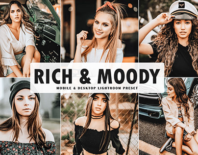 Rich & Moody Mobile & Desktop Lightroom Preset
