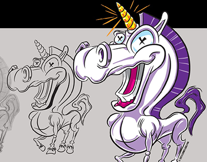 Goofy Unicorn