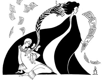 """Иллюстрации к Маркесу """"Любовь во время холеры"""""""