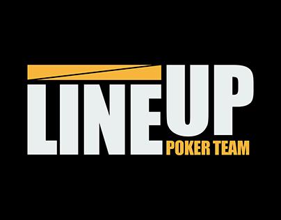LineUp Poker Team | Logo