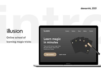 illusion (online school of learning magic tricks)