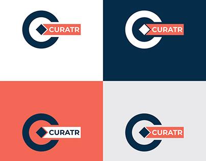 Letter C Logo minimalist icon monogram Logo design