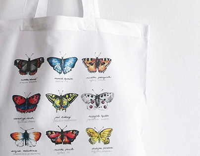 Watercolor Butterflies Collection