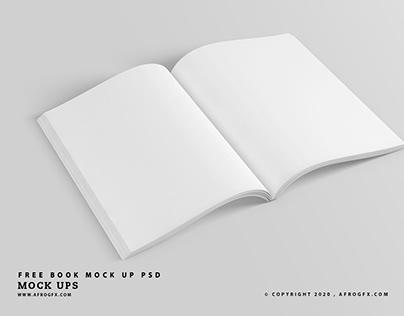 Free Book Mock Up PSD