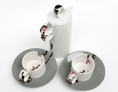 Eliptic coffee set