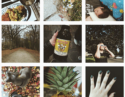 Moody Instagram Feed Design for Daily Love Journey