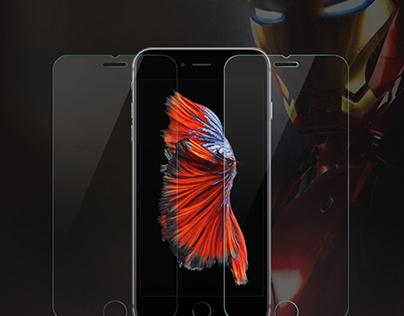 Miếng dán màn hình Iphone Devia Tempered Glass iphone 7