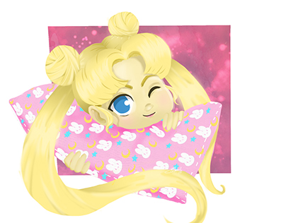 Snuggled Up Usagi
