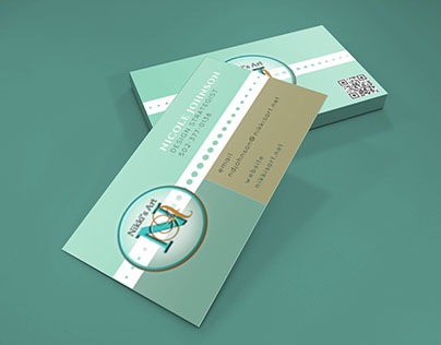 P Dazzle Business Cards On Behance