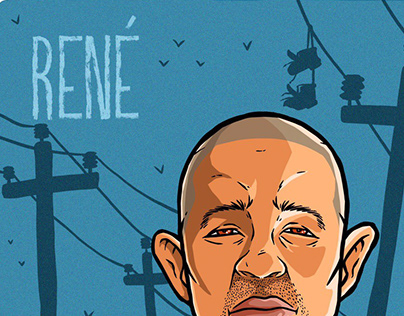 René (residente) gif animado homenaje