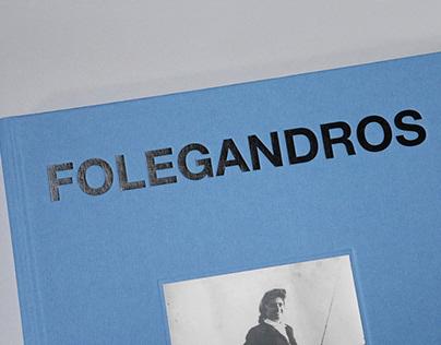 Folegandros-Amore, book design