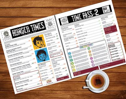 Menu Card- Cafe Refuel