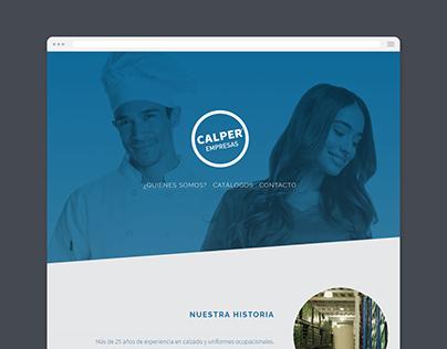 Calper Empresas Web Design