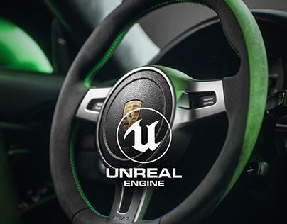 Porsche GT3RS - Unreal Engine 4 RTX