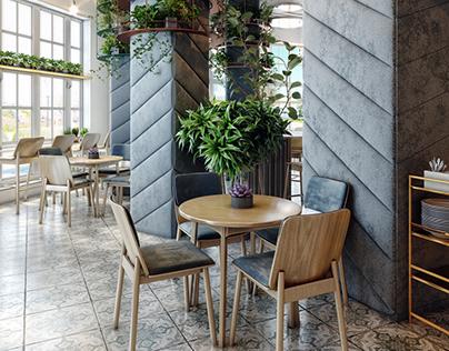 Cozy Cafe Design