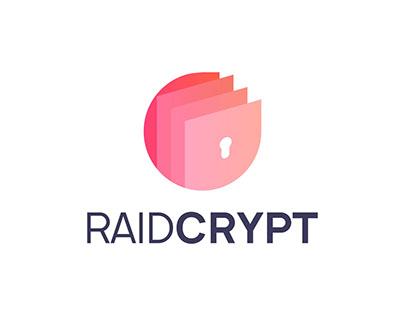 RAIDCRYPT Logo design