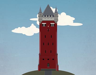 Vandtårnet i Esbjerg