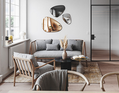 Modern and cozy scandinavian flat - OSLO