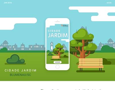 Projeto Blumenau Cidade Jardim - 2018