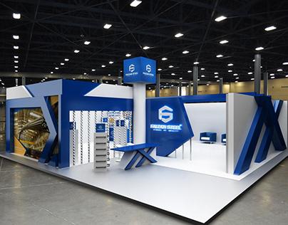 Faizan Steel Exhibition Stall Design