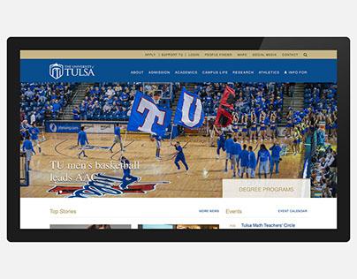 The University of Tulsa Website