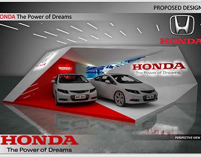 proposed design for Honda