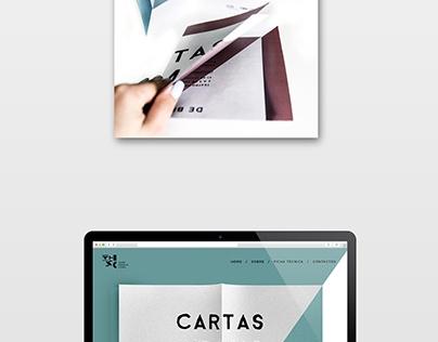 Visual Identity for the show Cartas Intimas