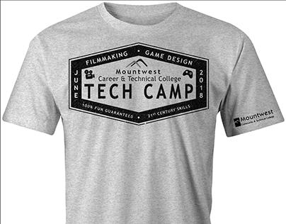 Tech Camp shirt design 2018