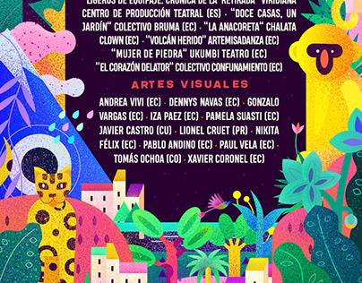 Funka Fest 2019 Animated Poster