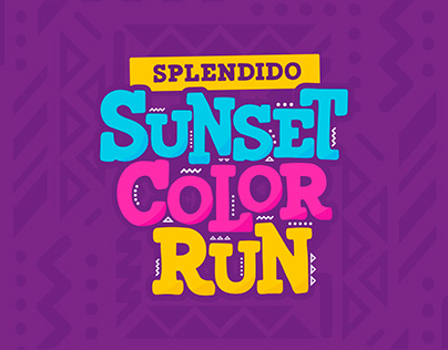Splendido Sunset Color Run | Event Branding