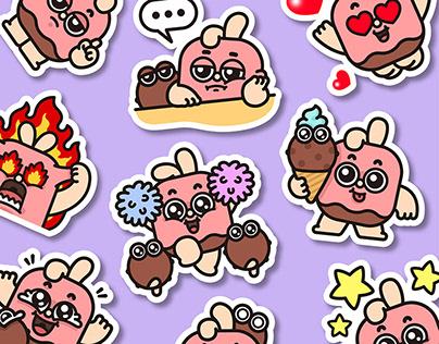 Choco Bunny & Coco