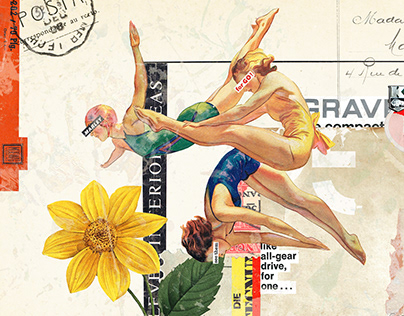Collage Artwork 274-276