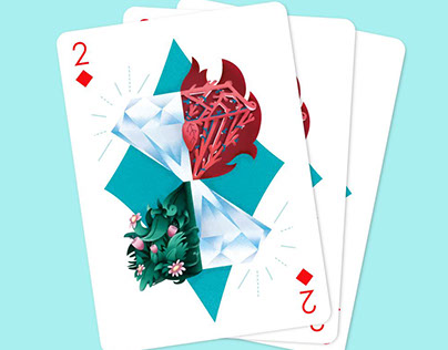 2 of Diamonds - Playing Arts Special Edition Contest