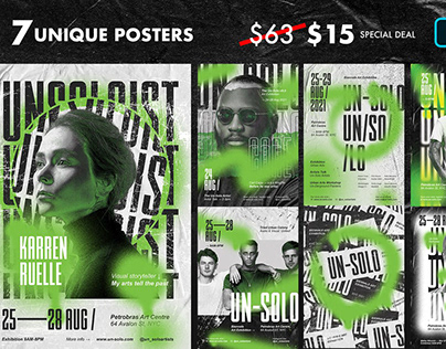 Artist Event Poster Templates