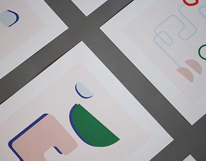Organic Forms—Print Series