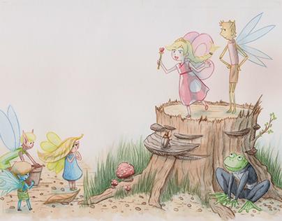 "Kinderbuch ""Die Feenkönigin"" / Childrensbook"