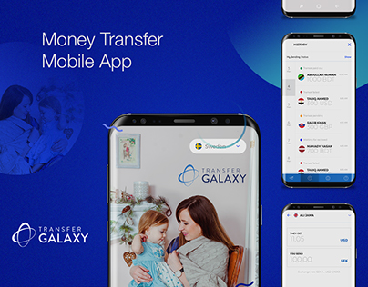 TransferGalaxy Money Transfer App
