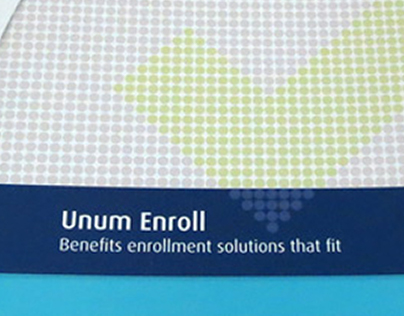 Unum Enroll Pocket Folder Brochure